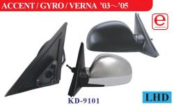 Hyundai side mirror