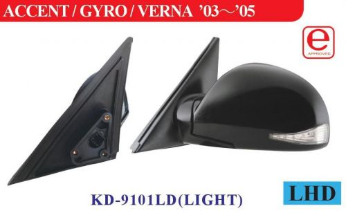 Hyundai wing mirror