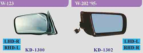 Mercedes Benz Side Mirror/ Wing Mirror